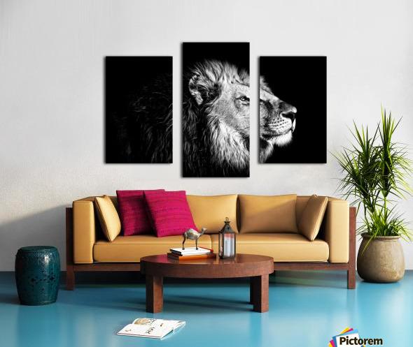 Lion with Attitude Canvas print