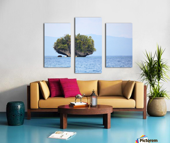 Rock Island Canvas print