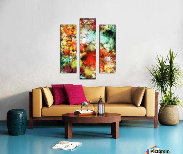 Tripwire Canvas print