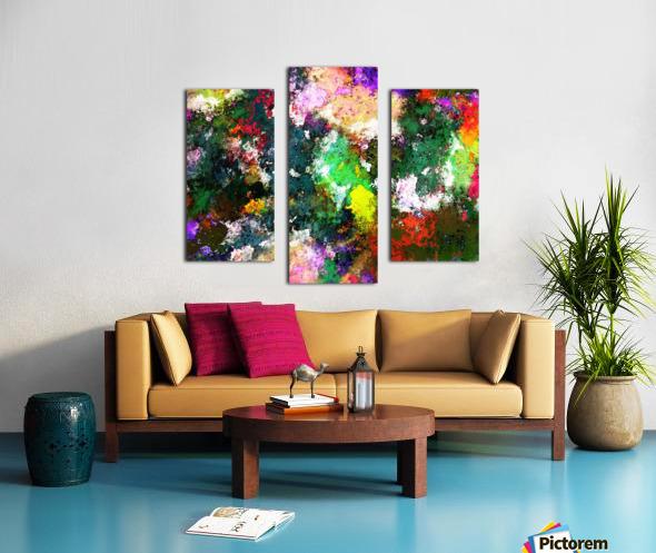 Tumbling down Canvas print