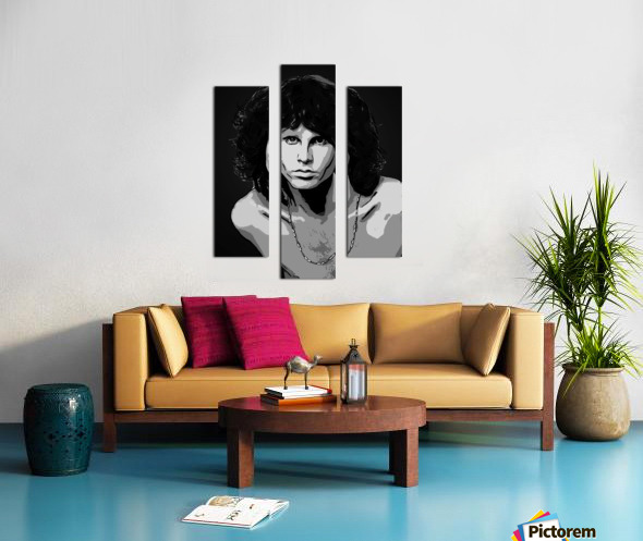 Jim Morrison of The Doors  Canvas print