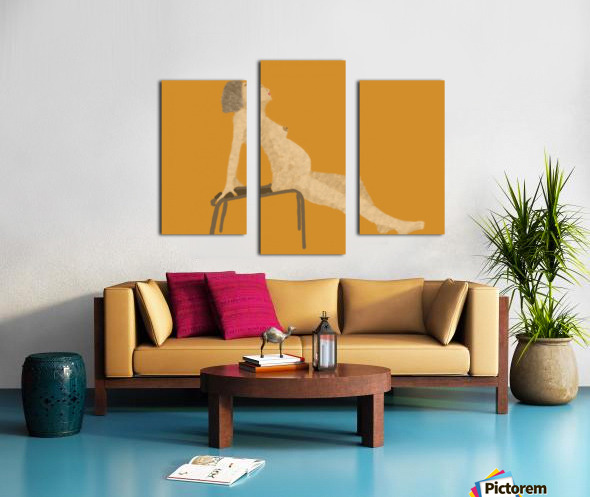 Expecting Canvas print
