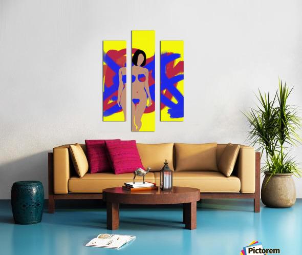 Female Canvas print