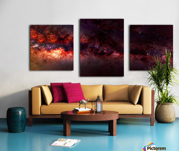 Hymn of the Cosmos Canvas print