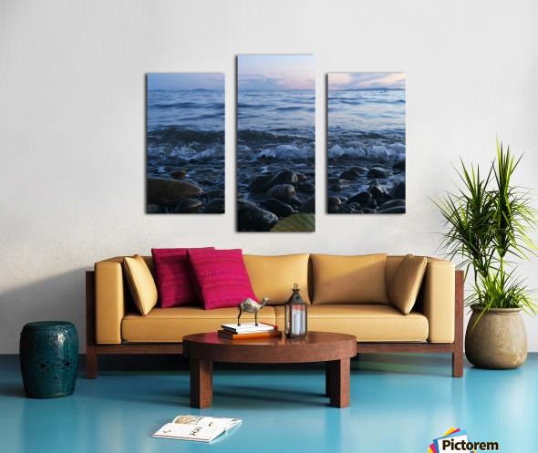Never ending view Canvas print