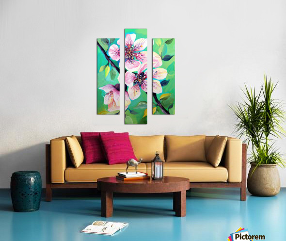 Japanese Sakura Cherry Blossom  Canvas print