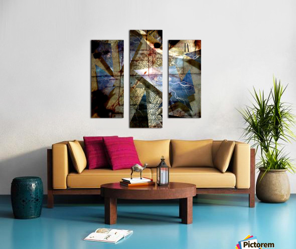 The Shards of Reality Canvas print