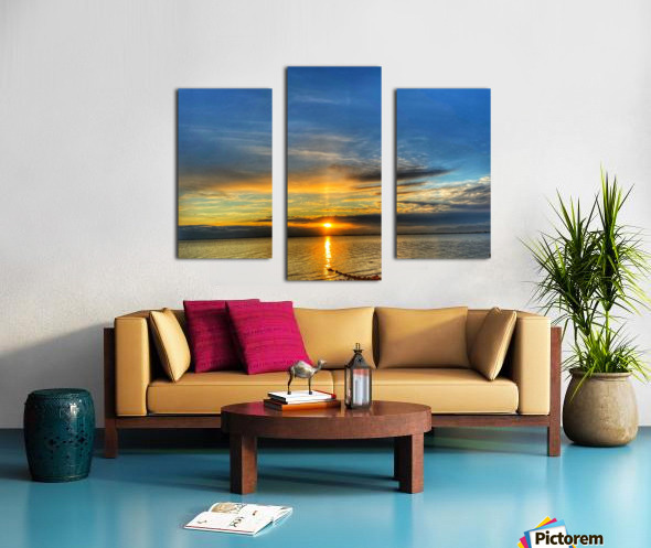 Ocean Sunsets Canvas print