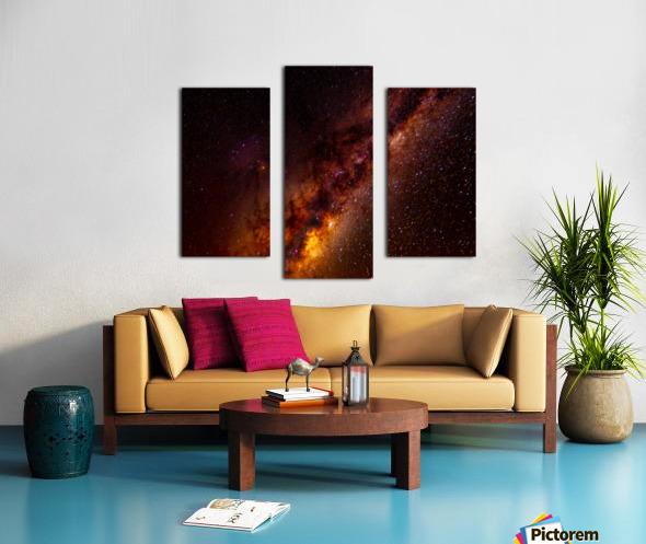 Galactic Core Explosion Canvas print