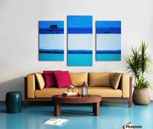 Boat - LXX Canvas print