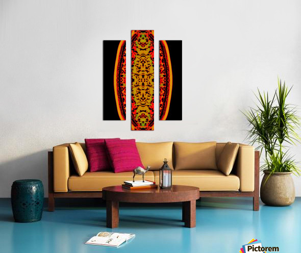 Shiva linga Canvas print