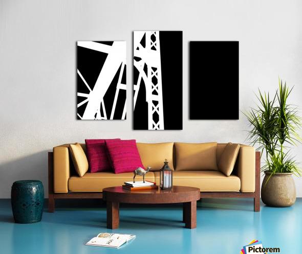 Bridge - XXIV Canvas print