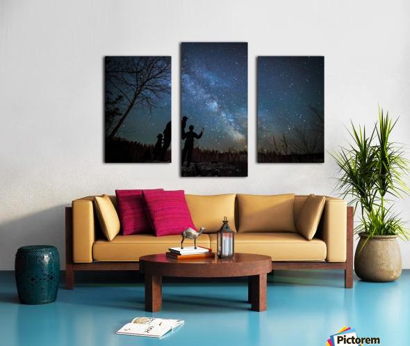 River of Heaven Canvas print