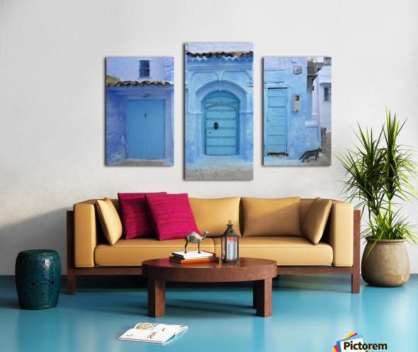 Chefchaouen Medina Morocco Canvas print