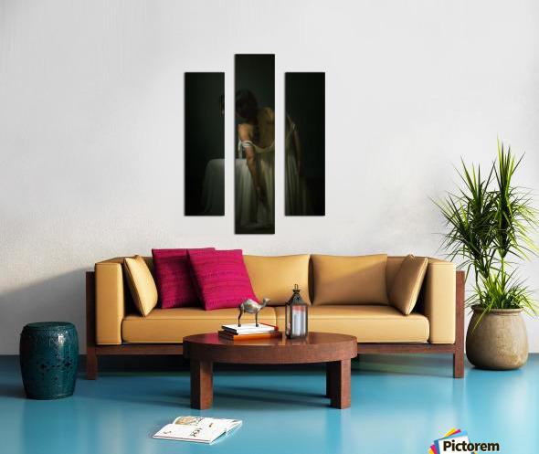 Le beau dos 1 Canvas print