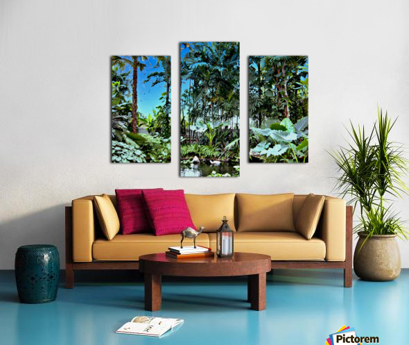 P25 - Small Forest Canvas print