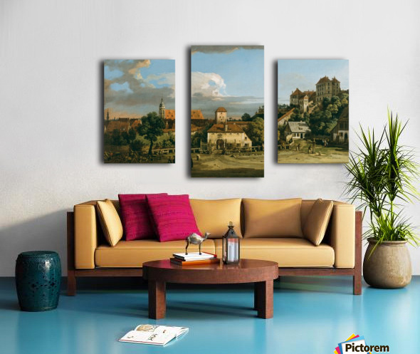 The Obertor from the South Canvas print