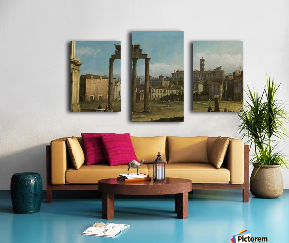 Ruins of the Forum, Rome Canvas print