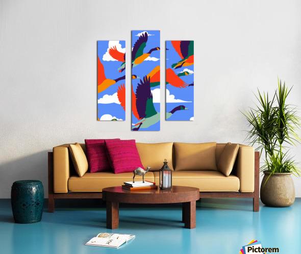 High On Life Canvas print