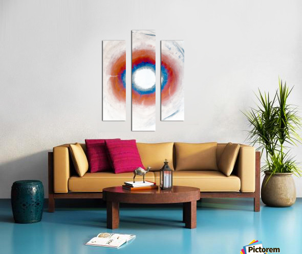 Glimpse of Black Hole No.4 Canvas print