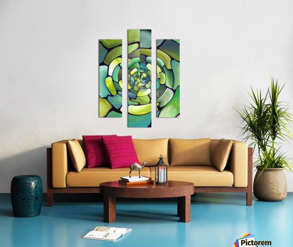 Artdeco Centered Pattern  Canvas print