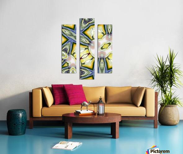 Artdeco Biophilia  Canvas print