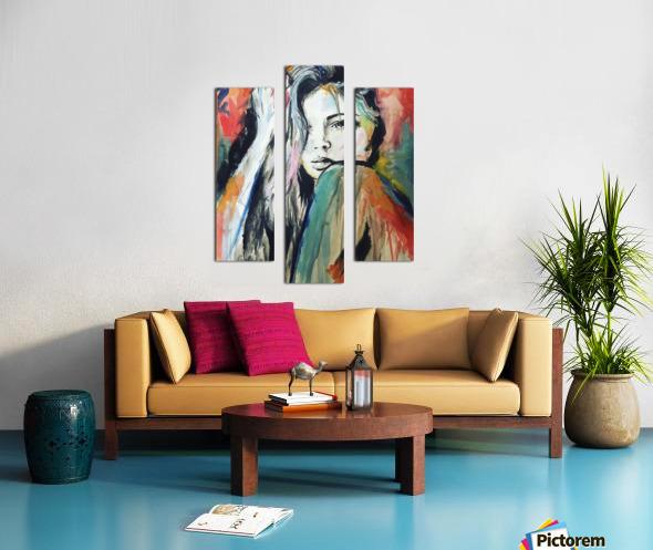 Evangelina Canvas print
