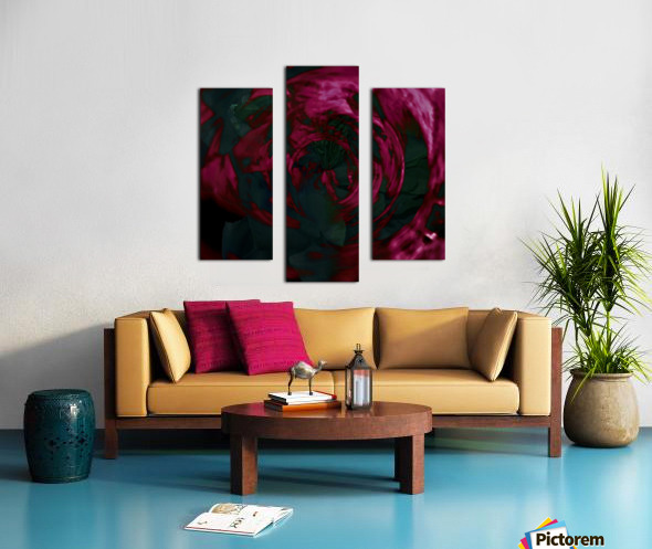 Escapades In Depths Canvas print