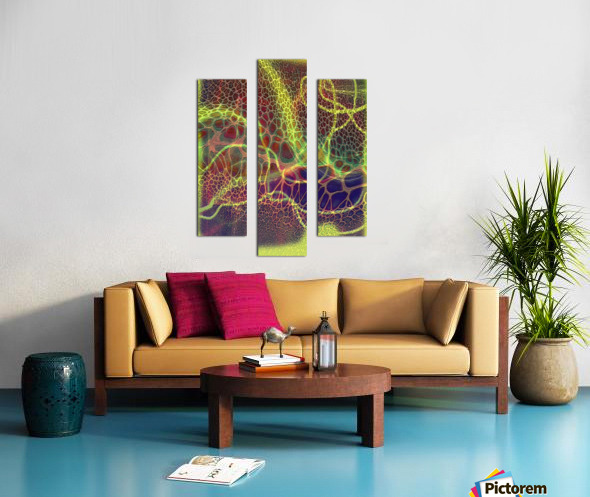 ABSTRACTART07 Canvas print