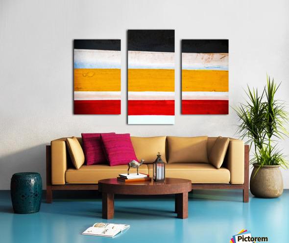 Boat - LXXVI Canvas print