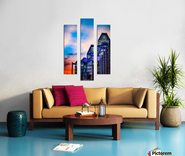 Sunset at the National Gallery of Canada Canvas print