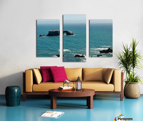 Pacific Coast Highway Clifornia CA 14 Canvas print