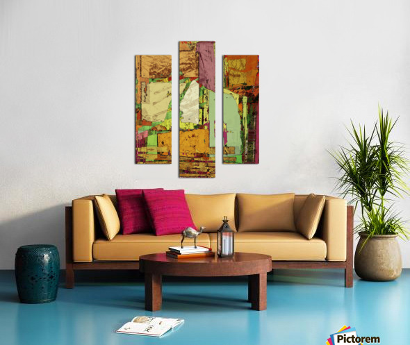 Paper trail Canvas print