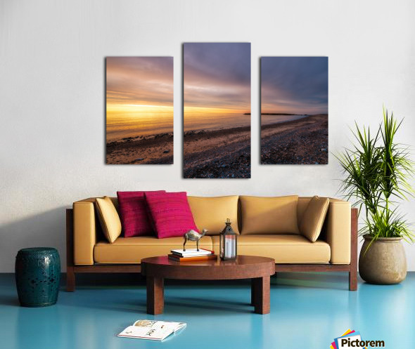 Glowing at la Bloc - CBHNP Canvas print