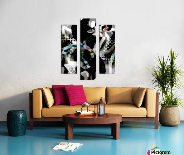j A Z U Canvas print