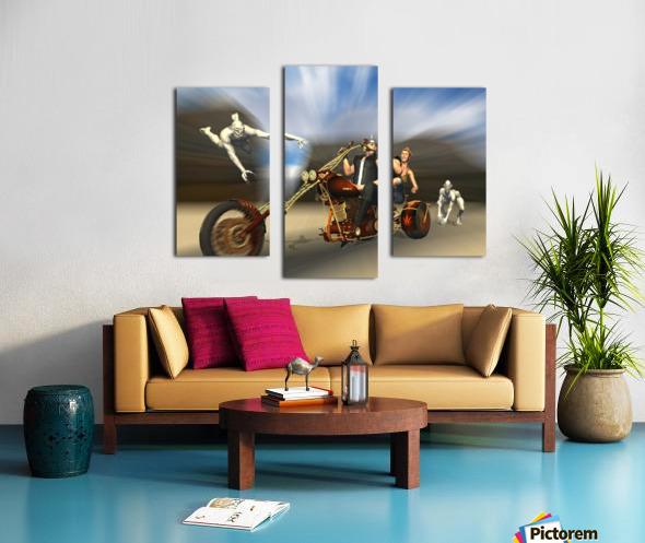 Desert Ride Canvas print
