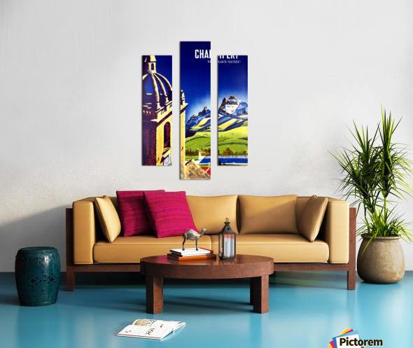 Champery Canvas print