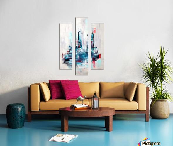 Uptown XVIII Canvas print