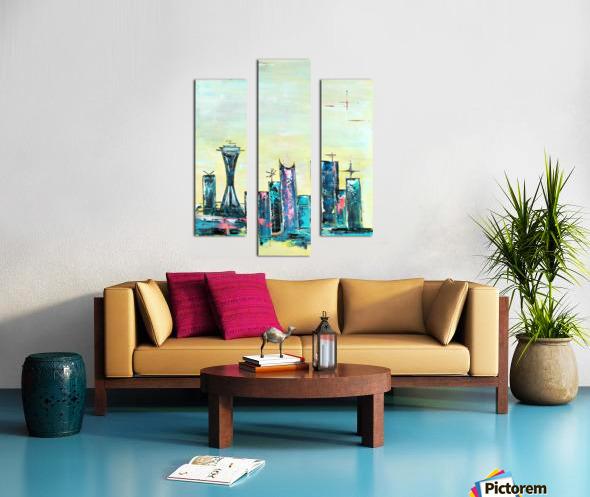 Uptown Seattle  Canvas print