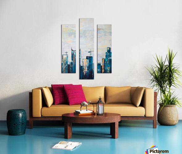 Uptown IX  Canvas print