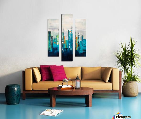 Uptown II Canvas print