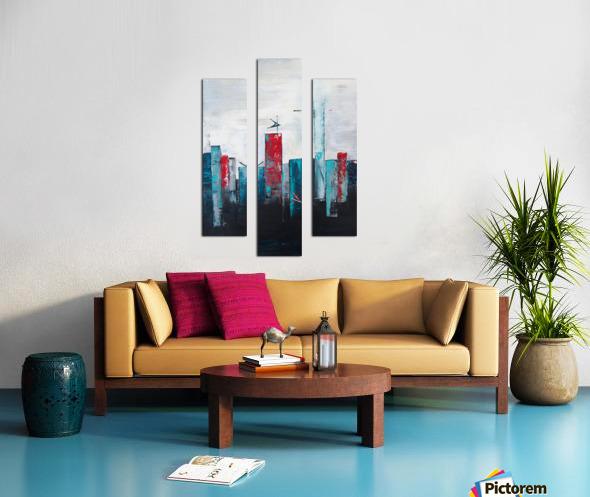Uptown IV Canvas print