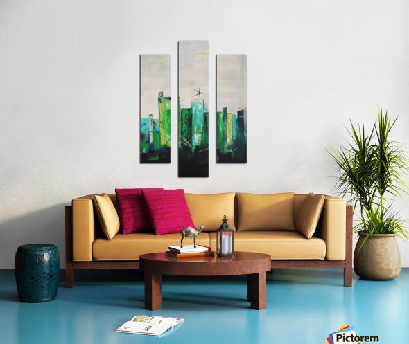 Uptown XIX Canvas print
