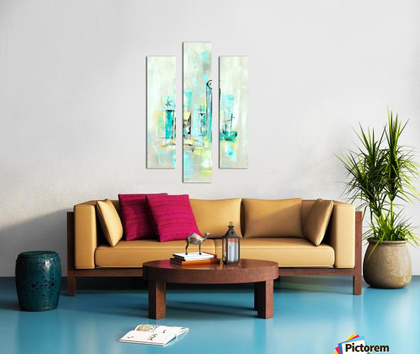 Uptown XII Canvas print
