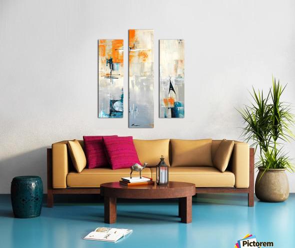 MCM urban II Canvas print