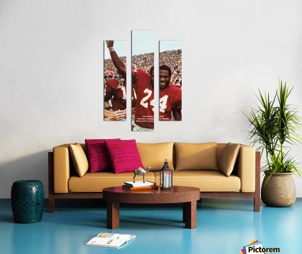 1974 oklahoma sooners football national champions poster sports wall art Canvas print