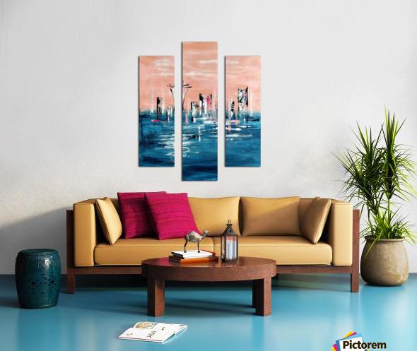 Westown I Canvas print