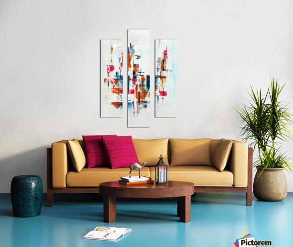 MCM Urban VII Canvas print
