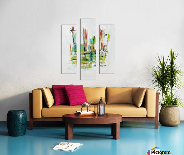 Primavera I Canvas print