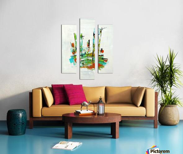 Primavera II Canvas print